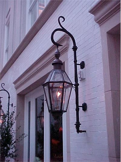 Traditional exterior lighting from bevolo gas electric