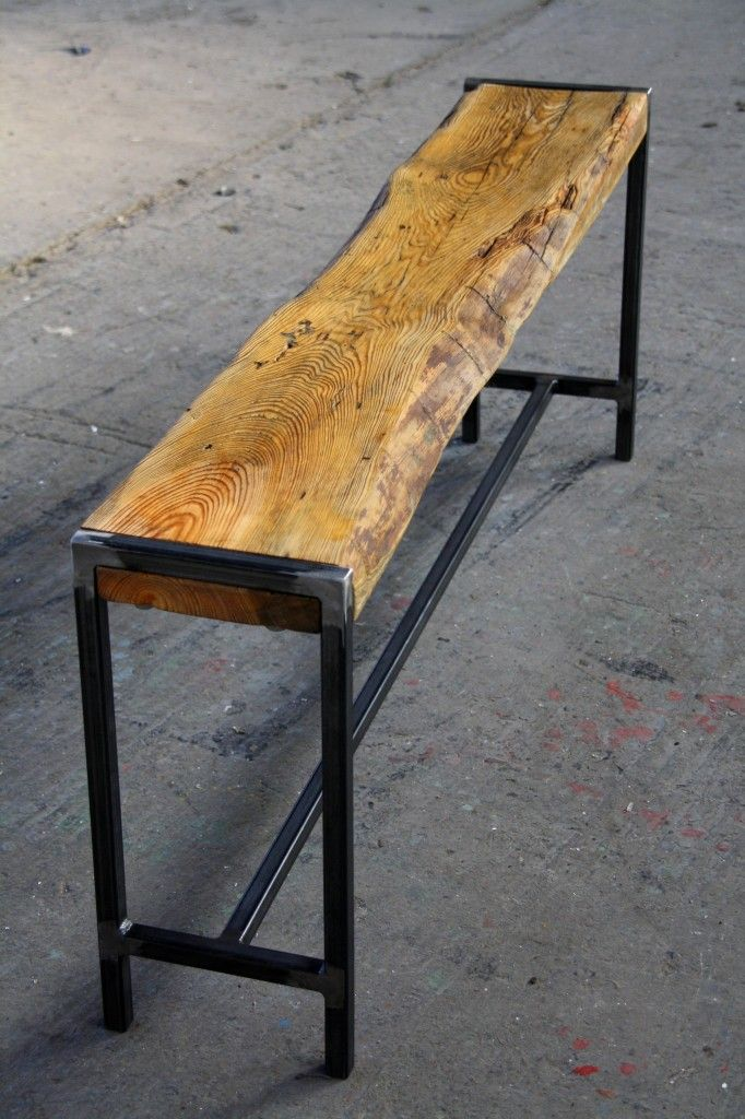 Recycling Holzbank