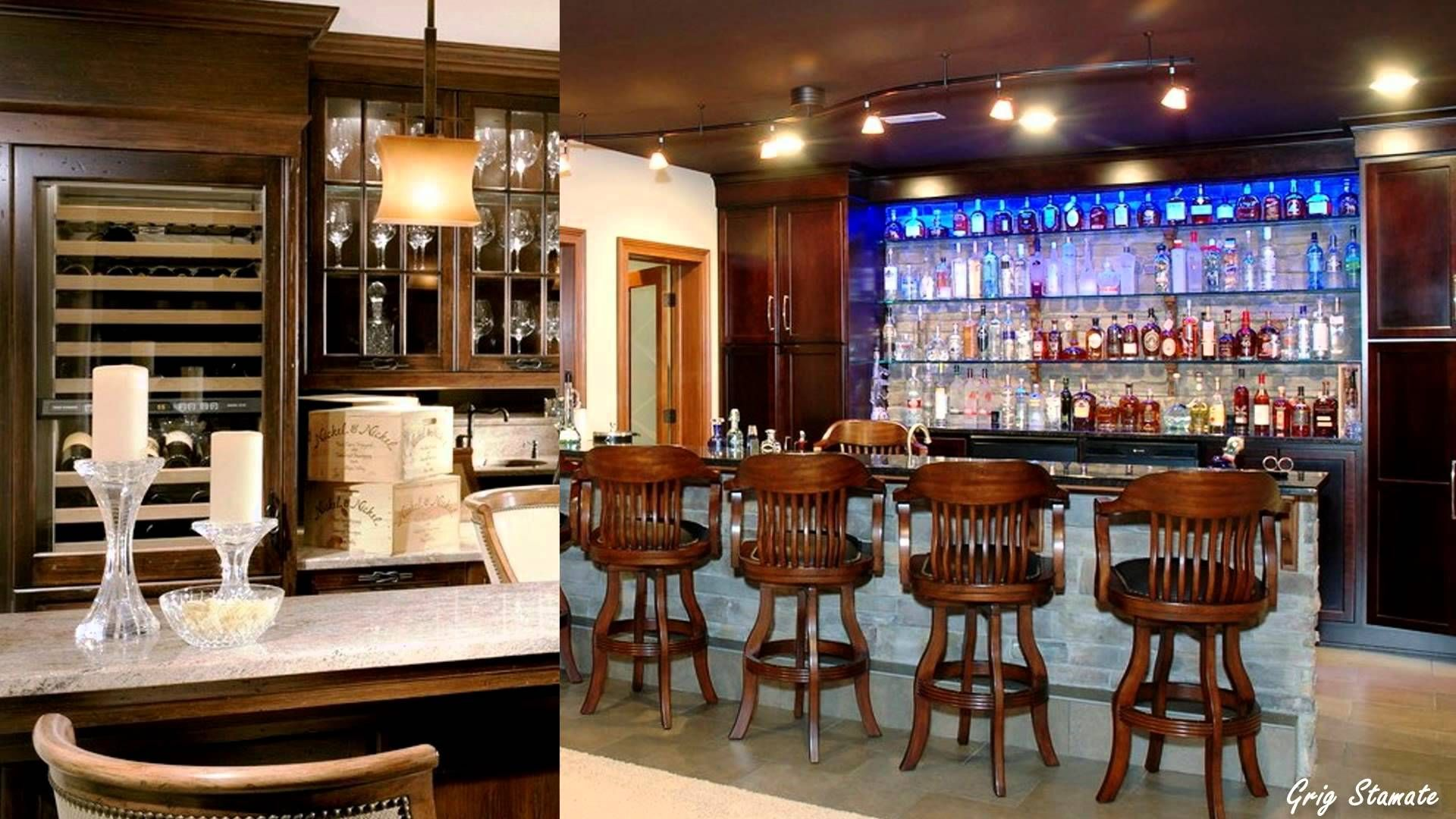 House Bar Ideas cool & unique home bar design ideas | interior design | pinterest