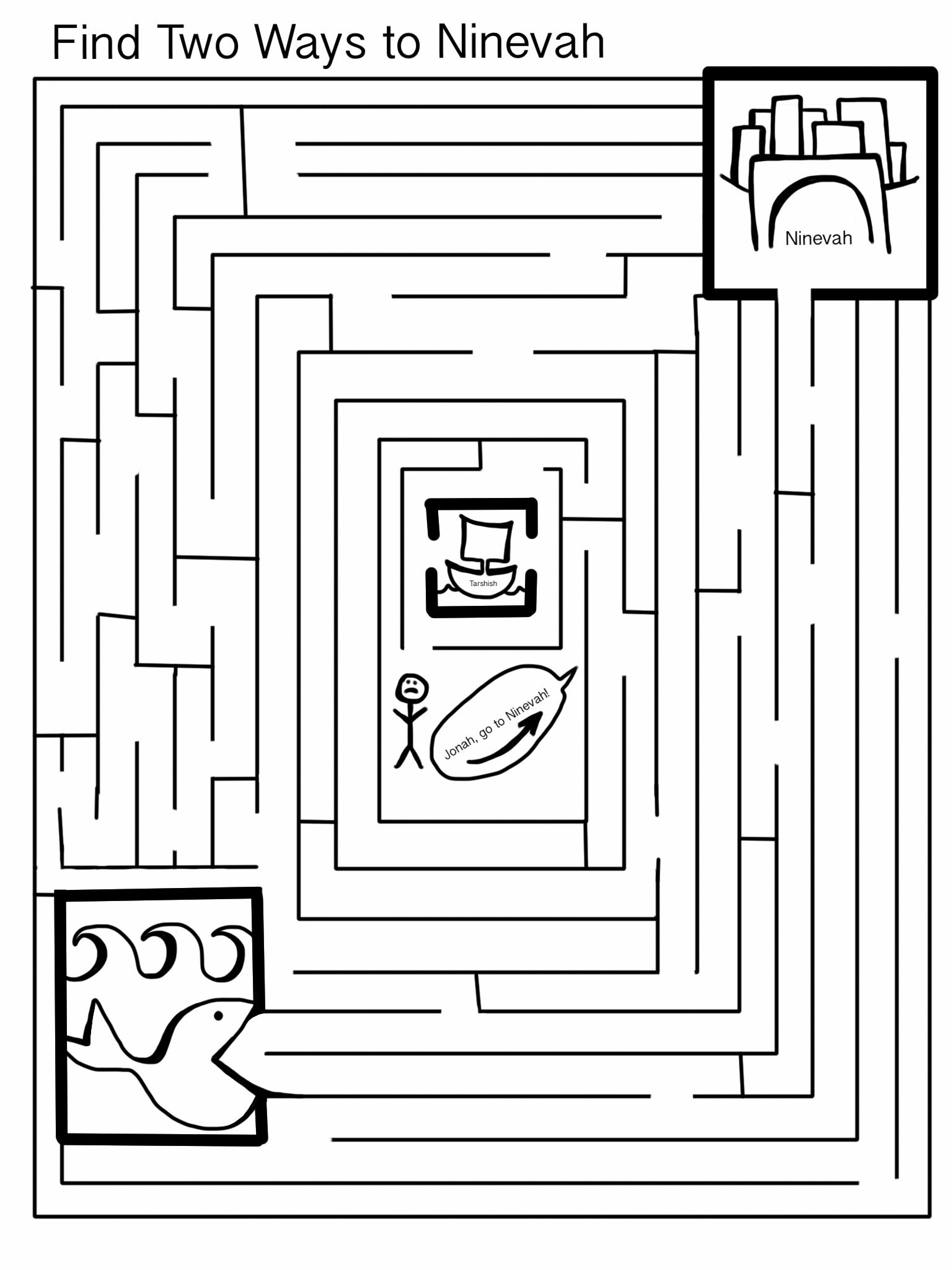 jonah maze teaching kids about god pinterest