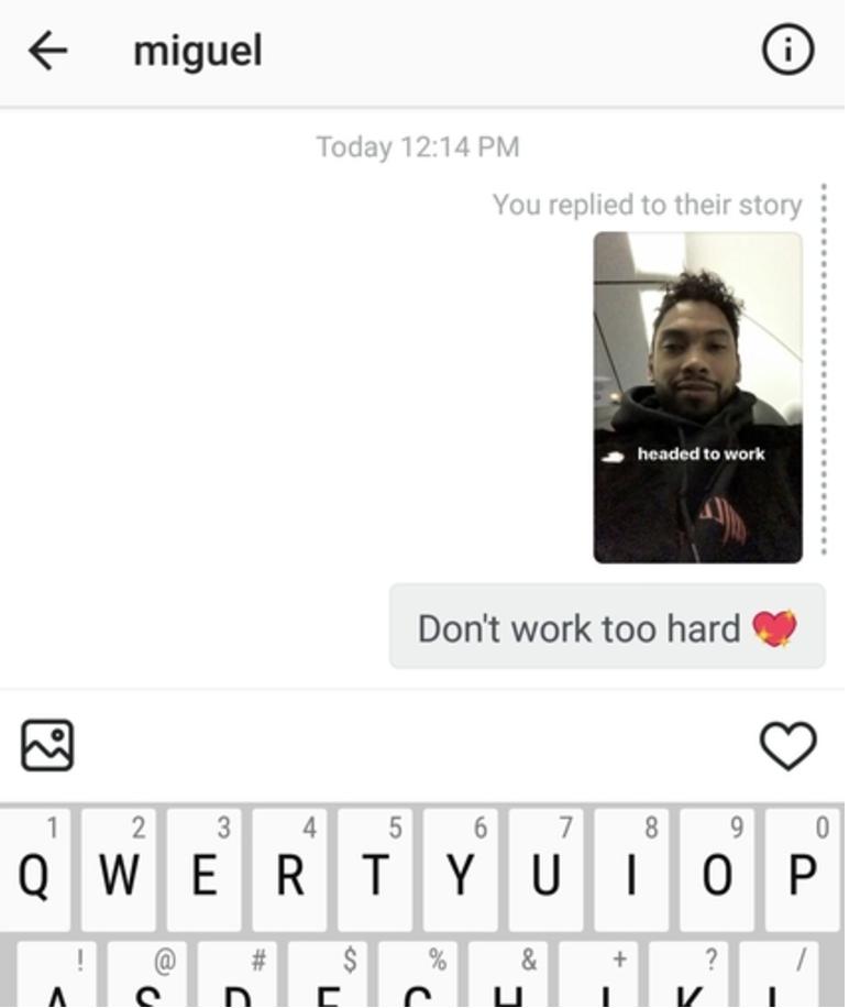 How to flirt on instagram dm [PUNIQRANDLINE-(au-dating-names.txt) 51