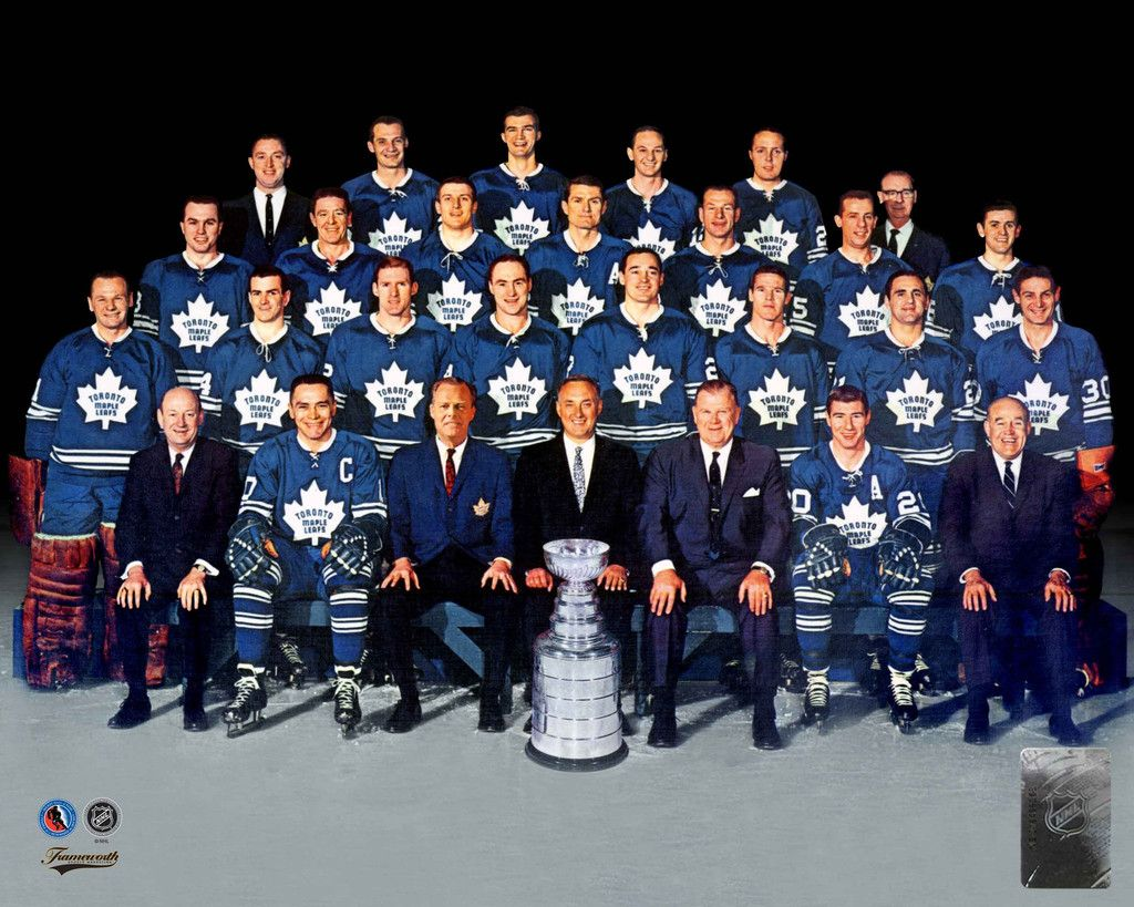 1967 Stanley Cup Champions Toronto Maple Leafs Toronto