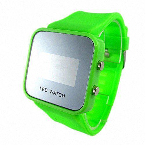 DAYAN Unisex-Gummiband-Spiegel-LED-Digital-Sport-Armbanduhr - http://herrentaschenkaufen.de/dayan/dayan-unisex-gummiband-spiegel-led-digital-sport