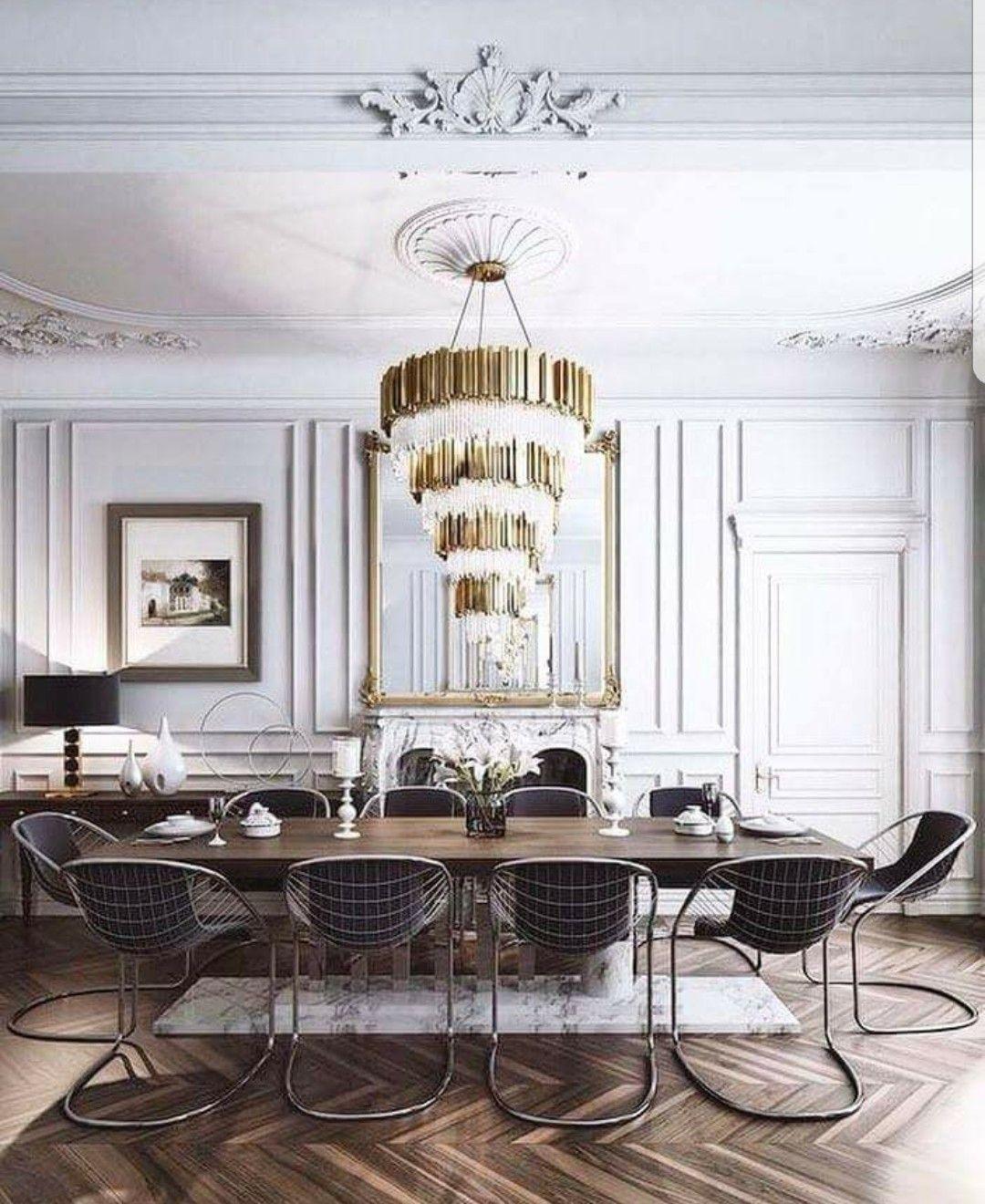 Modern Chairs In Formal Dining Room Credit Kraftek Studio