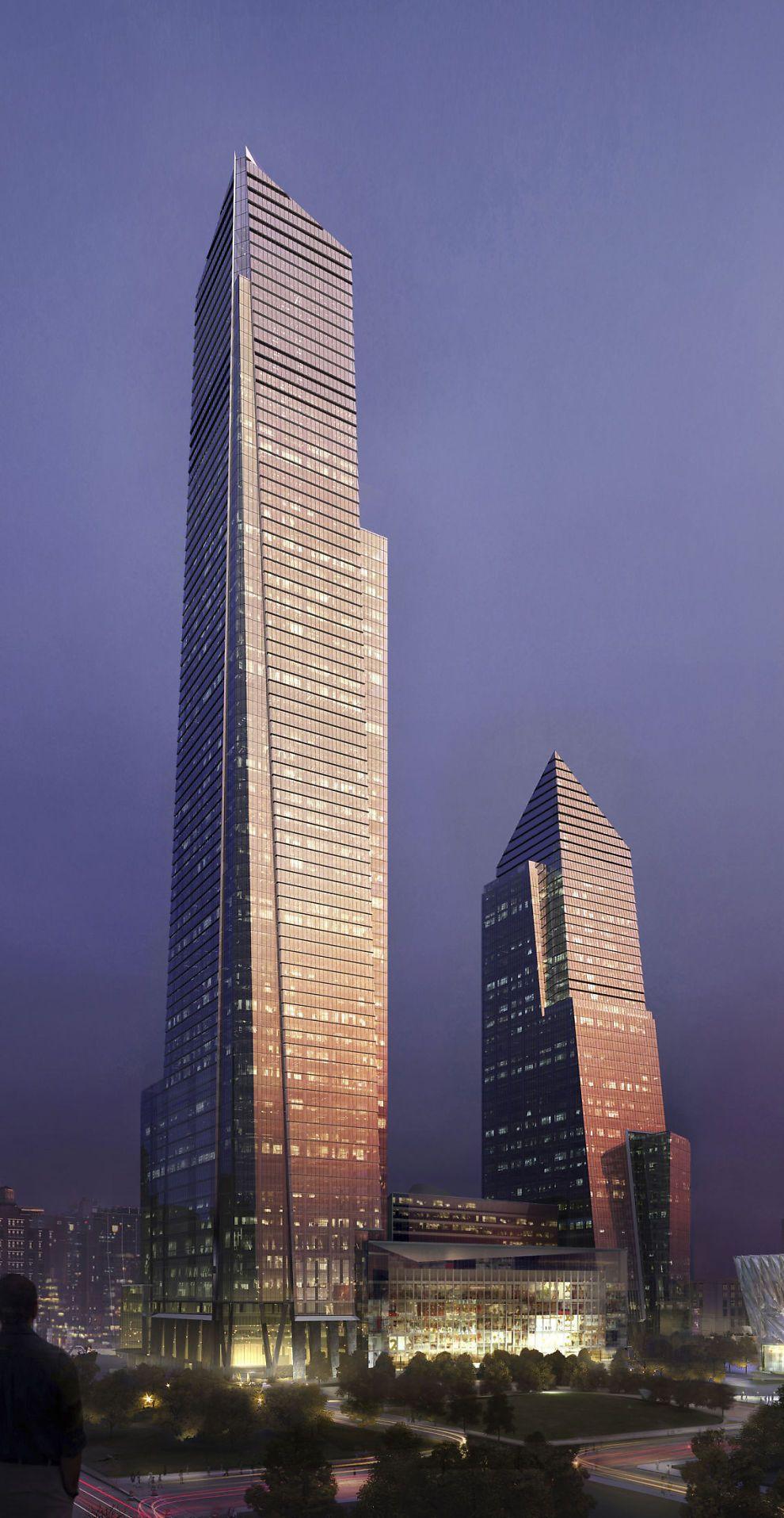 Skal fornye New Yorks fasadefor 86 milliarder Skyscraper
