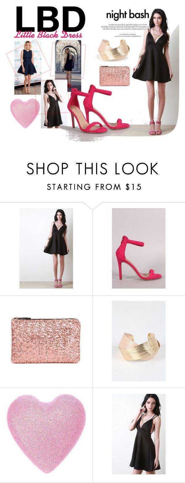 """""""LBD Little Black Dress - Red Carpet Style"""" by the-walking-threads on Polyvore featuring Louis Vuitton, Pink, LittleBlackDress, LBD, Gala and Awards"""