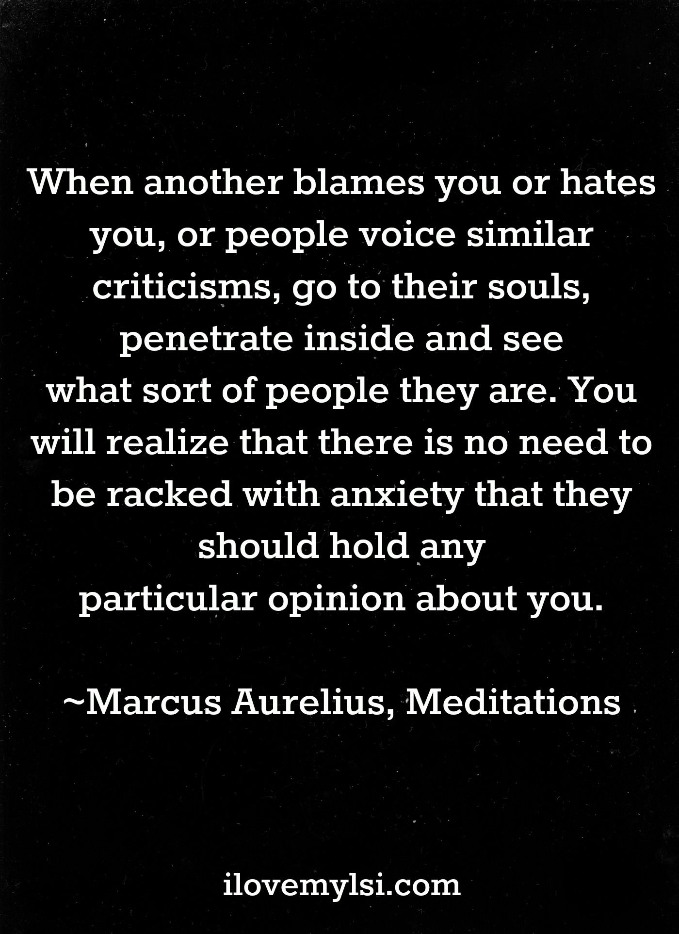Go To Their Souls I Love My Lsi Stoicism Quotes Stoic Quotes Meditation Quotes