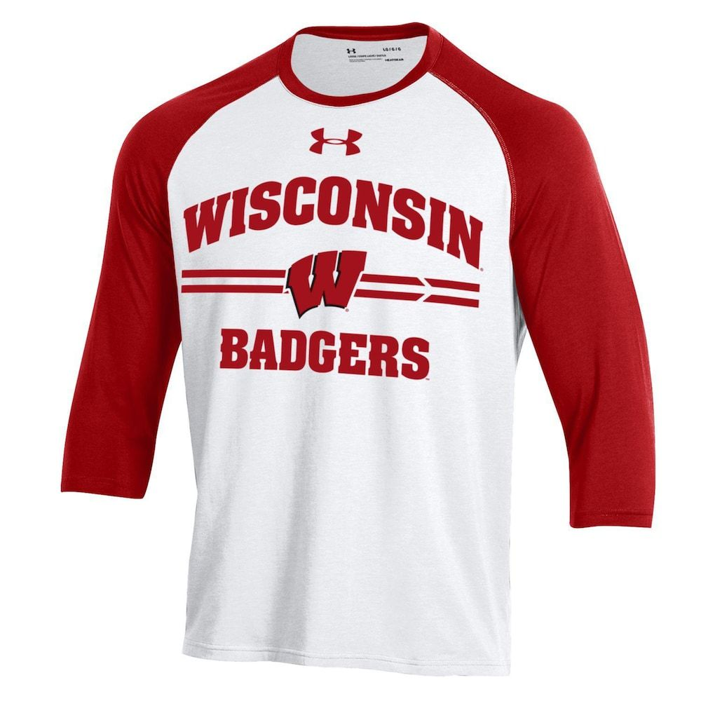 best service ec568 75a35 Men's Under Armour Wisconsin Badgers Tee in 2019 | Products ...