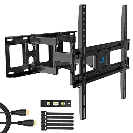 Amazon Com Tv Wall Mount Bracket Full Motion Dual Swivel