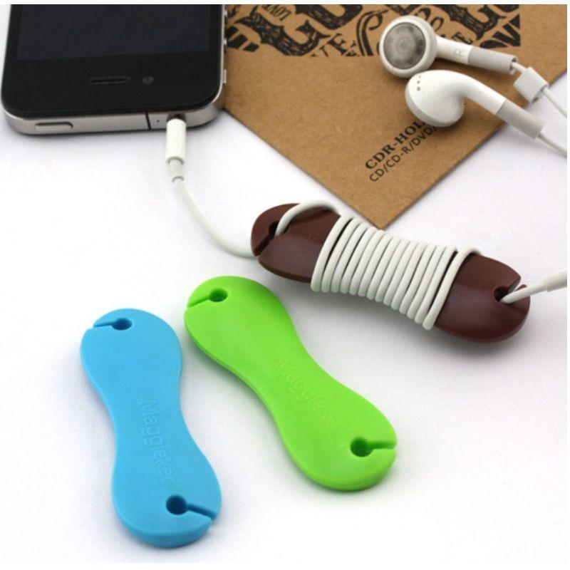 fishbone cable organizer enrouleur de c ble en plastique support de c ble casque couteurs. Black Bedroom Furniture Sets. Home Design Ideas