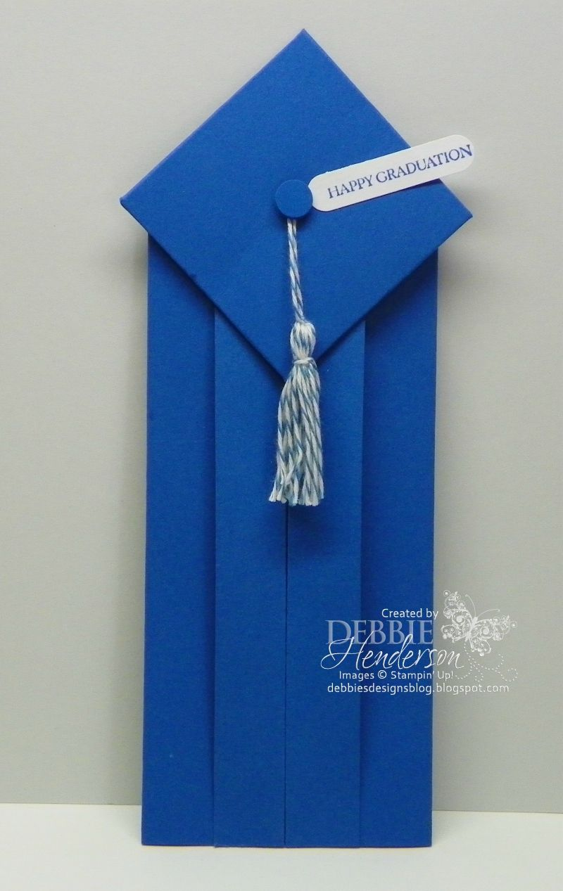 Origami Graduation card. Easily made too! :) Video is on youtube.