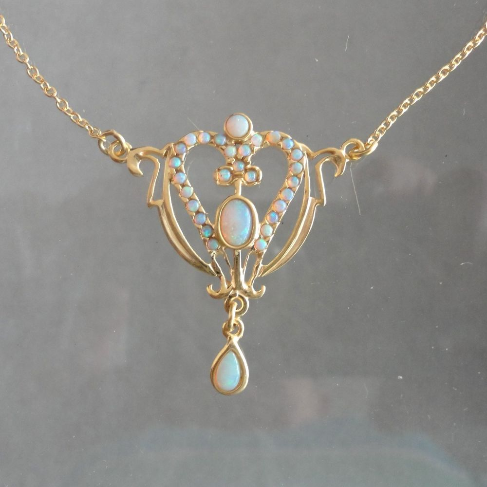 Opal schmuck antik  Modeschmuck