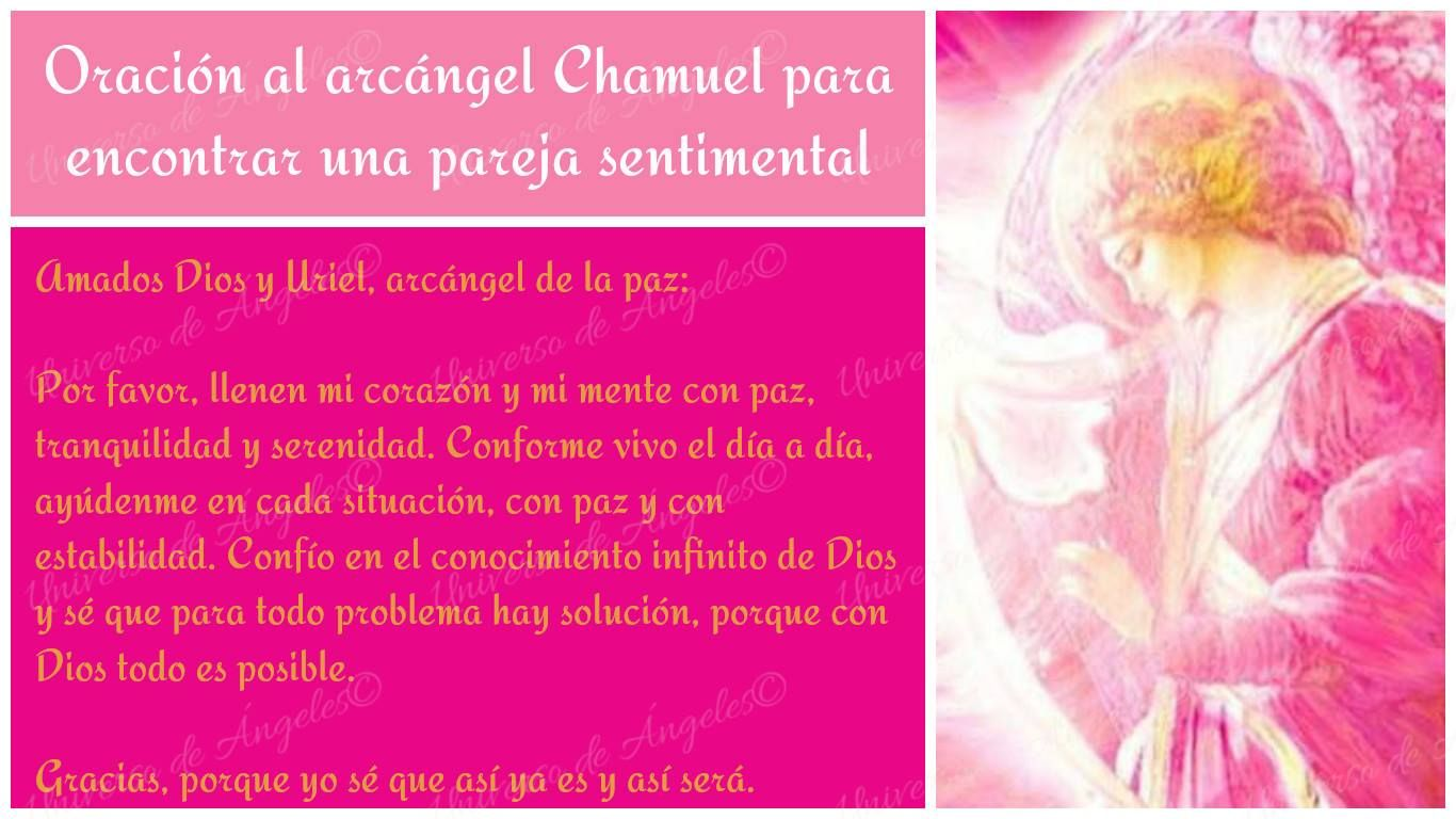 ORACIÓN AL ARCÁNGEL CHAMUEL PARA ENCONTRAR UNA PAREJA SENTIMENTAL  #UniversoDeAngeles