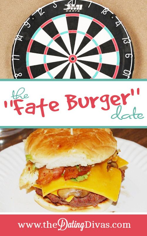 Burger dating night