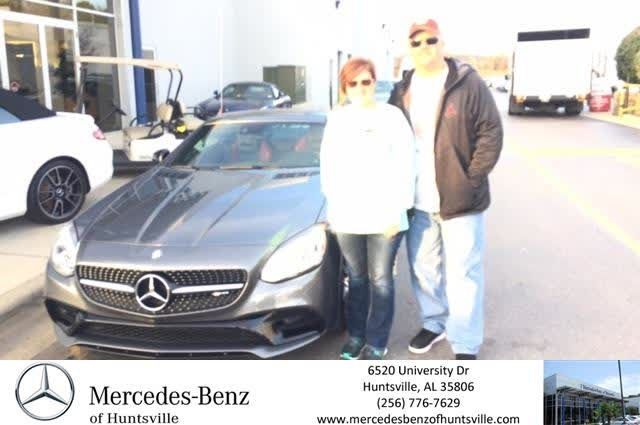 Congratulations Jessica On Your Mercedes Benz Slc From Greg Melbo At Mercedes Benz Of Huntsville Https Delivery Mercedes Benz New Mercedes New Luxury Cars