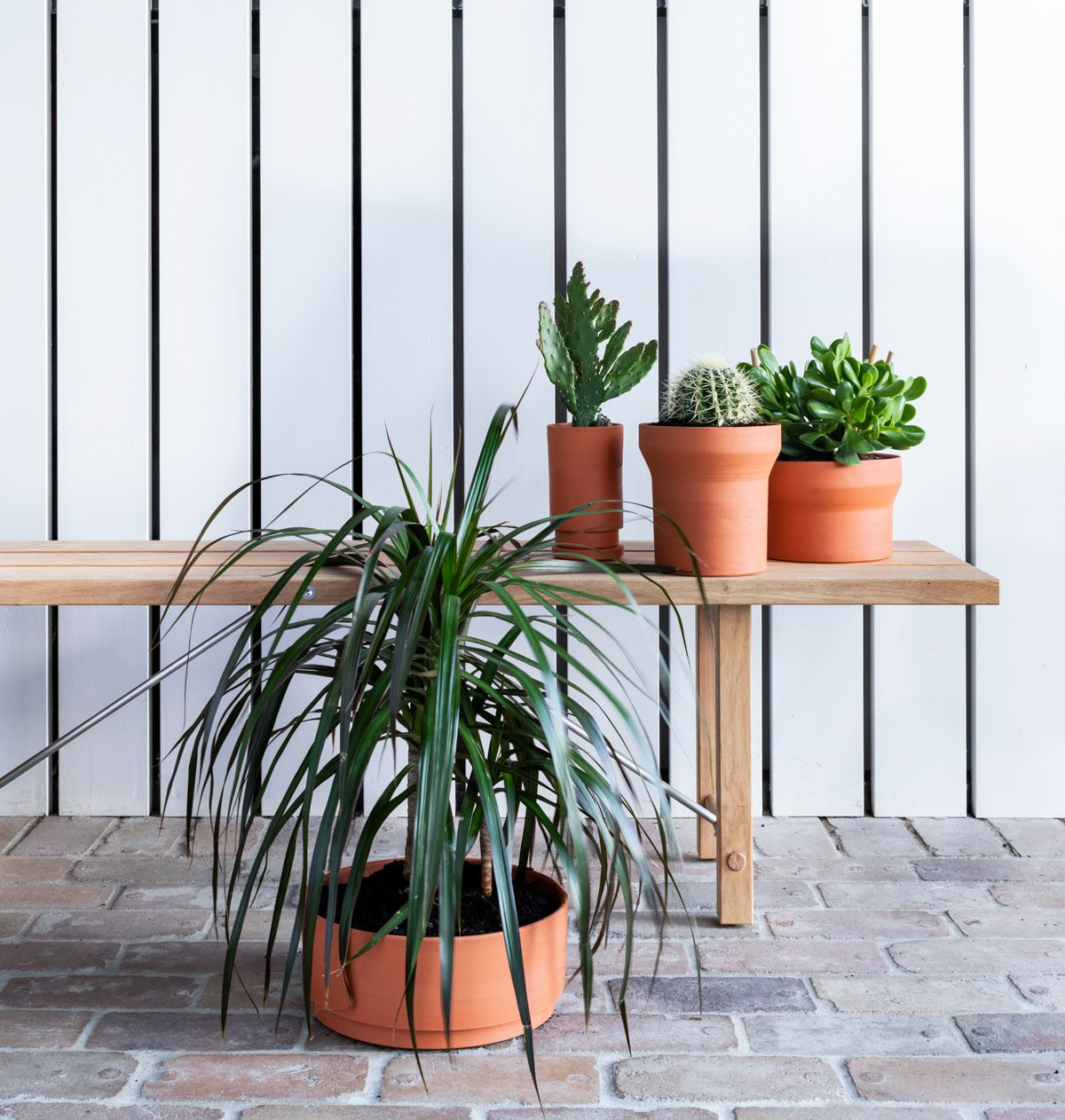 Architecturallyinspired planters by anchor ceramics