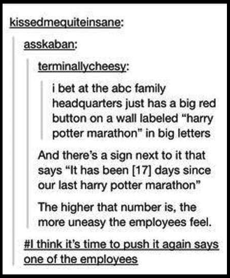 These Are Too Funny Harry Potter Marathon Harry Potter Texts Harry Potter Funny