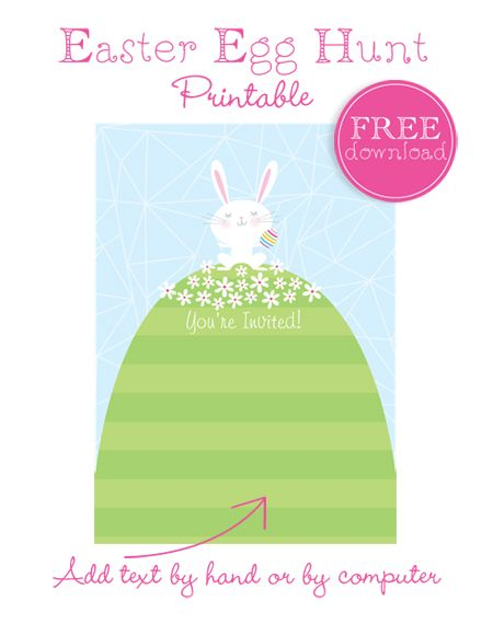 Planning A Neighborhood Easter Egg Hunt Plus A Free Printable