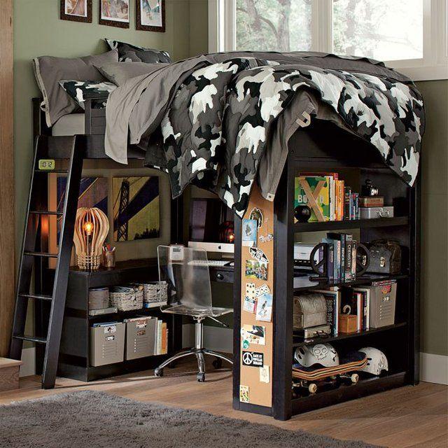 Teenage Boys Bedroom Ideas For Sleep Study And: Kid And Teen Room Designs