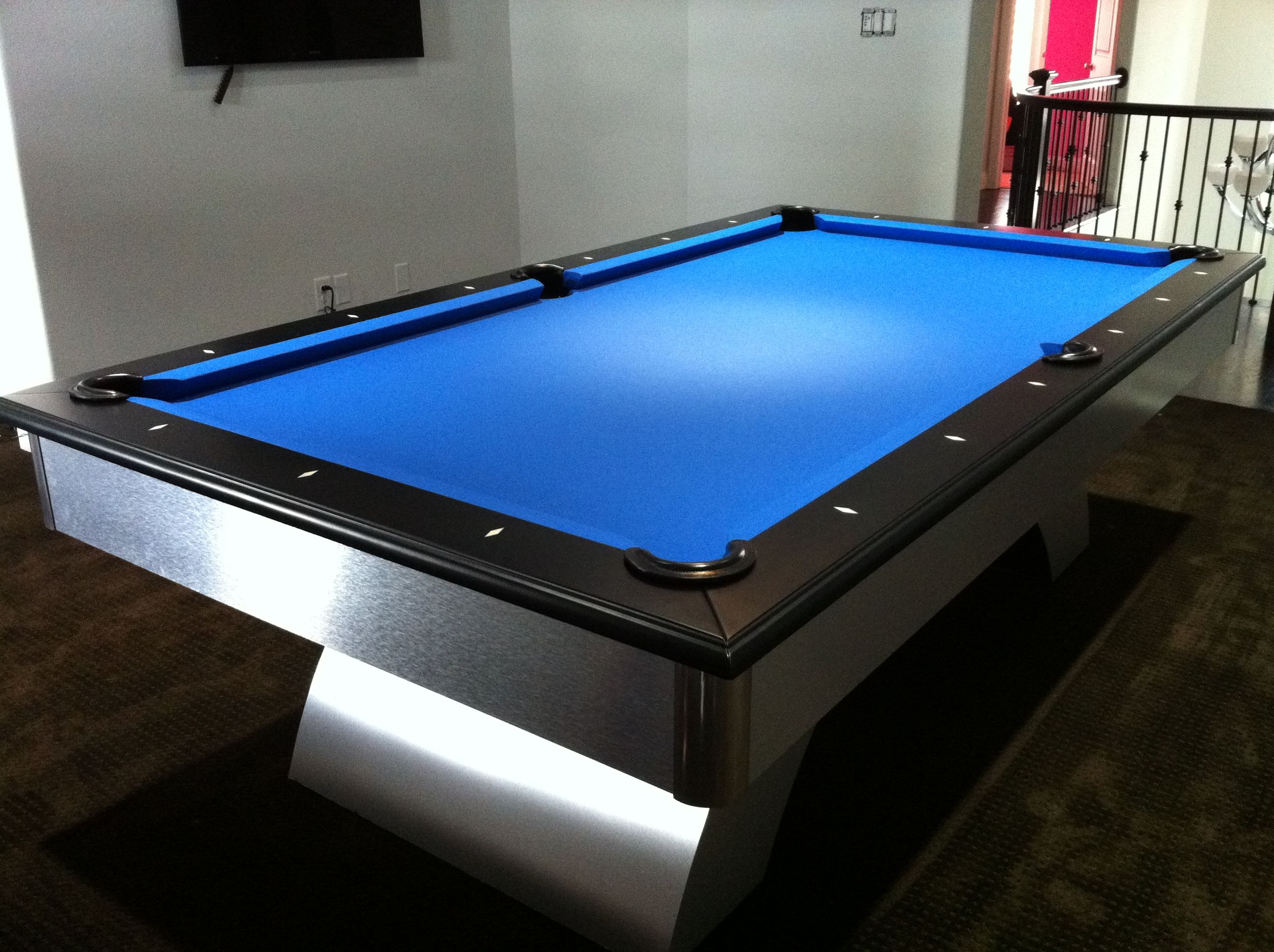 Pool Tables 1 Inch Slate Pool Tables For Sale Sears Has Pool Tables To Enjoy Time With Family And Friends Ping Pong With Images Black Pool Table Pool Table Diy Pool Table
