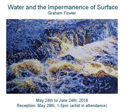 Graham Fowler: Water and the Impermanence of Surface  12 Hazelton Avenue, Toronto ON M5R 2E2 hours: Tues-Sat 11-6. Sun & Mon by appointment. T: 416 968 0901 #art #artist #Toronto #Canada