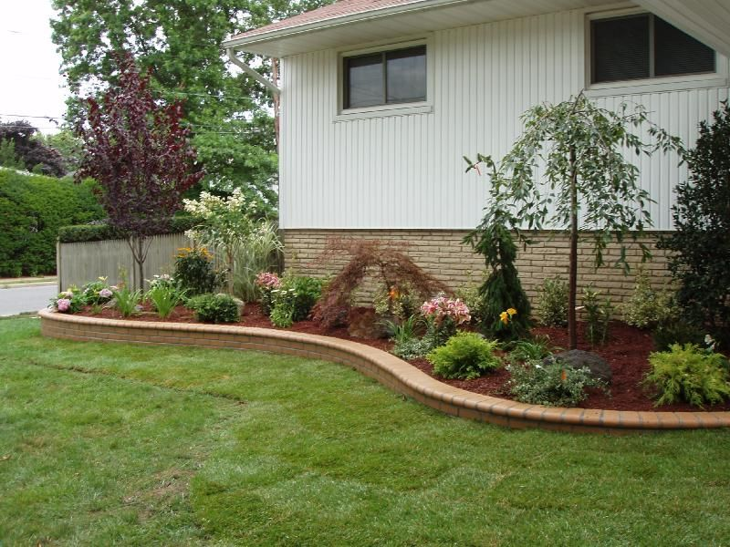 Landscaping is easy get ideas and designs over 7000 for Simple landscape ideas for front of house