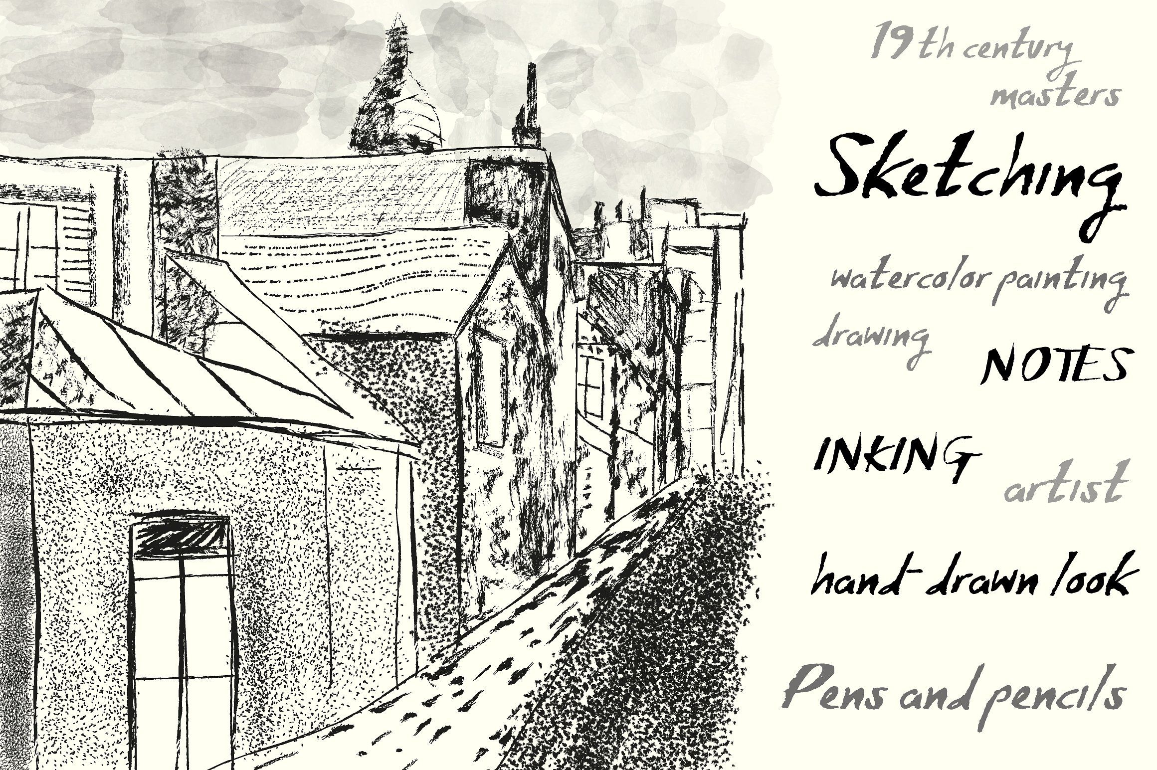 Sketchbook Brushes For Illustrator Illustrator Brushes Sketch