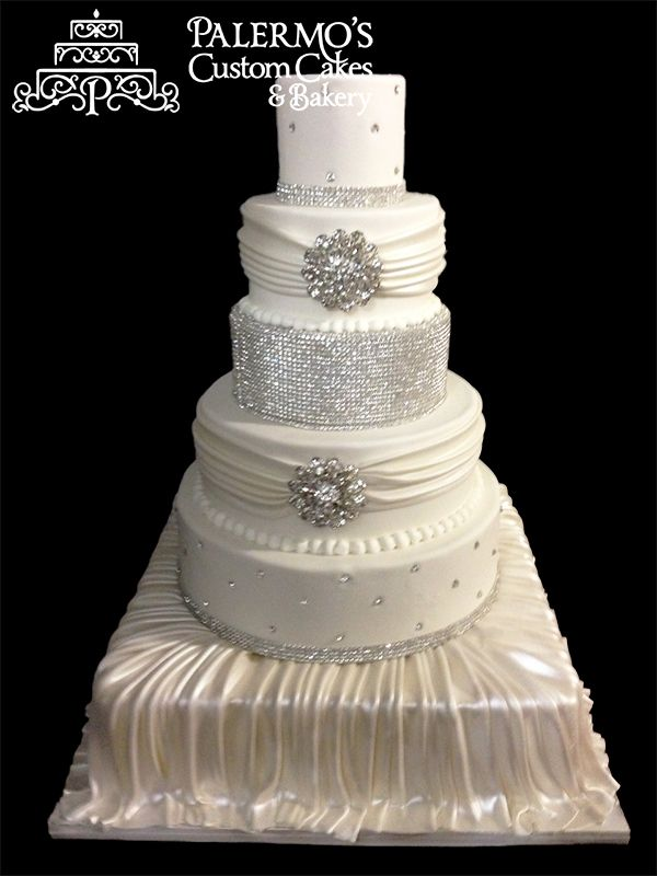 wedding cakes with jewels wedding cake rhinestone jewels wedding 26047