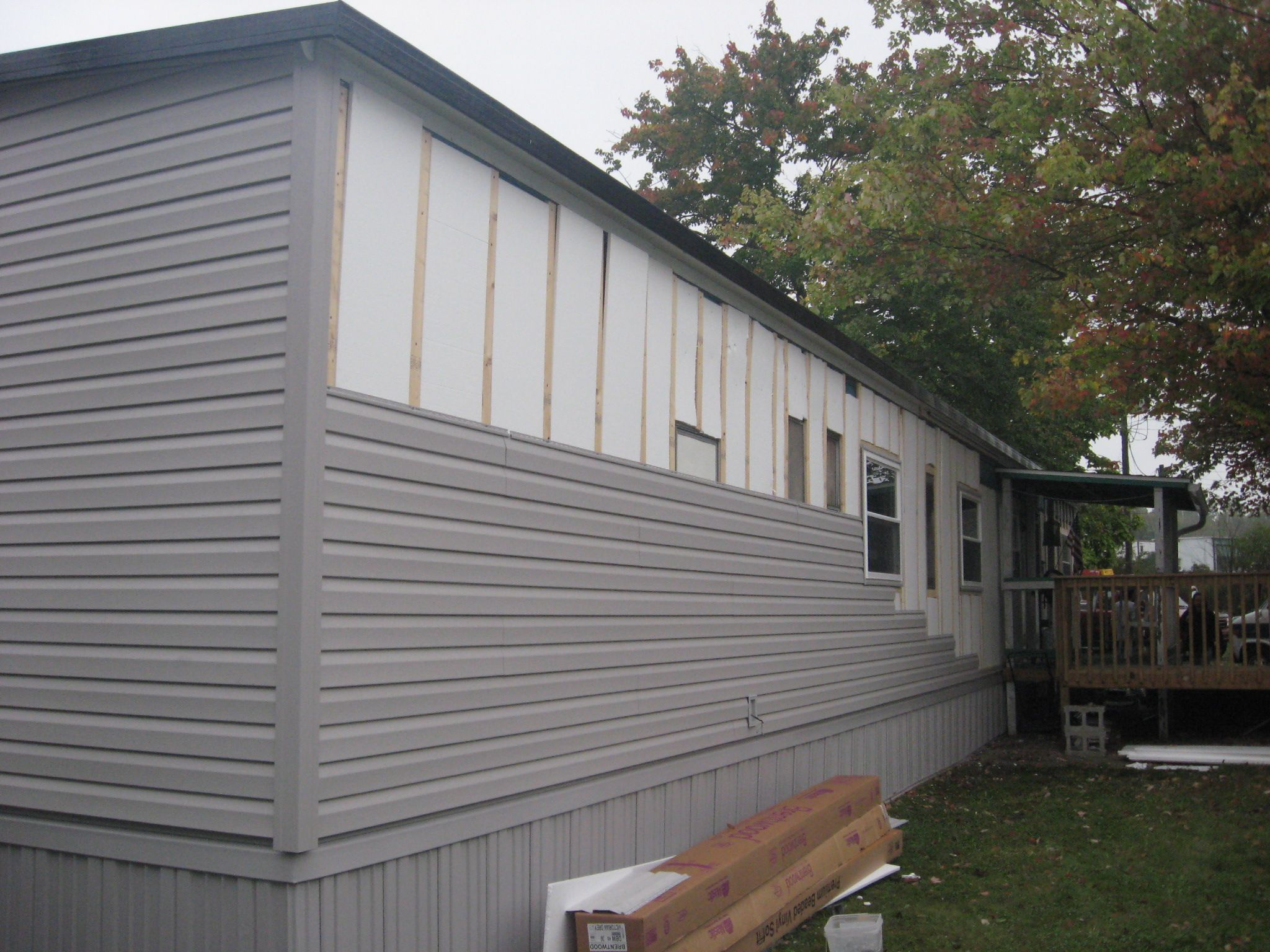 See Our Mobile Home Siding Installations And Get Maintenance Free Vinyl Siding In Center Valley Mobile Home Siding Mobile Home Skirting Mobile Home Exteriors