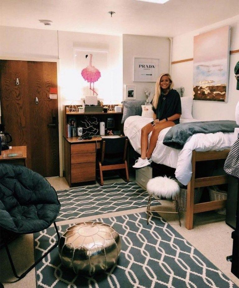 49 fantastic college bedroom decor ideas and remodel 24 ⋆ aegisfilmsales.com #dormroomdesigns