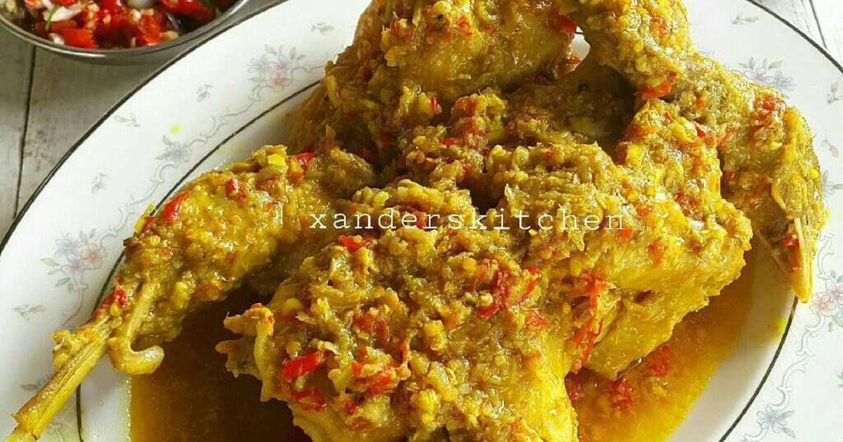 Resep Ayam Betutu Juara Harus Recook Oleh Xander S Kitchen Resep Resep Ayam Resep Resep Masakan