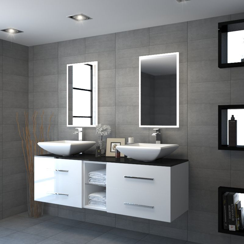 Bathroom Design Grey Double Bathroom Sit On Designer Basin With Grey Glass Top