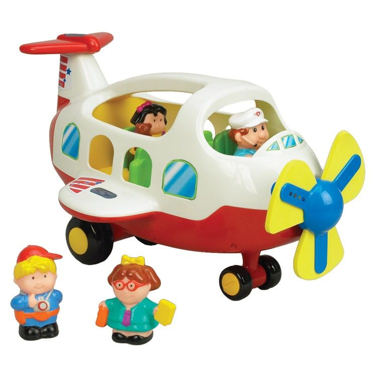 Activity Toy Plane Light Amp Sound Playset For Toddlers