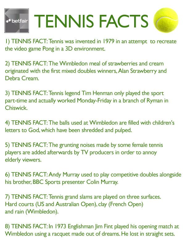 Important Facts About Tennis Tennis Workout Tennis Tips Tennis Quotes