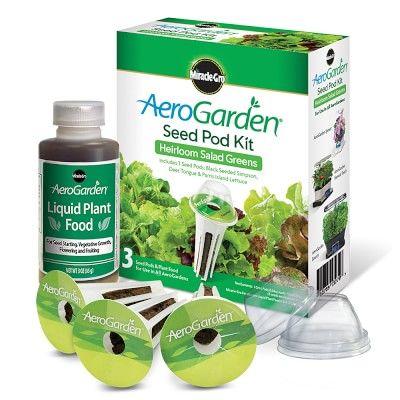 Aerogarden 3 Pod Heirloom Salad Greens Seed Kit Herb 400 x 300