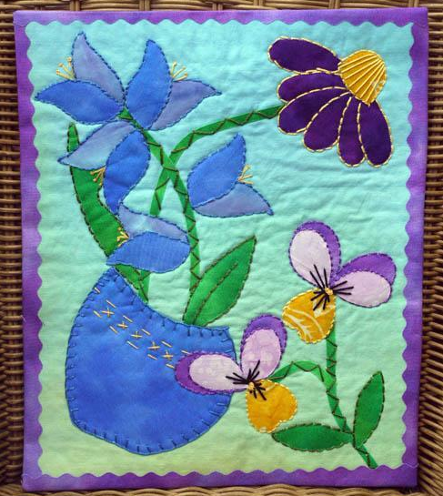 Quilt Fusing A Quicker Way To Applique Applique Sewing