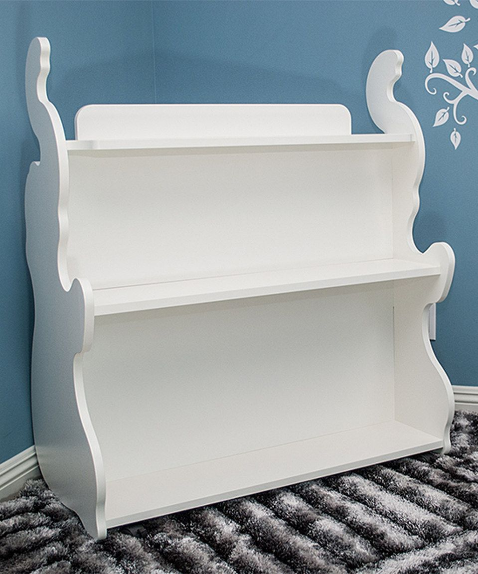 Take A Look At This Ace Baby Furniture White Elephant Mobile Double Side  Bookcase On Zulily Today!