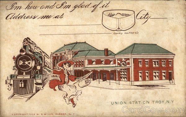 Union Station, Troy, N Y in 2019 | MOUNT OLYMPUS | Union
