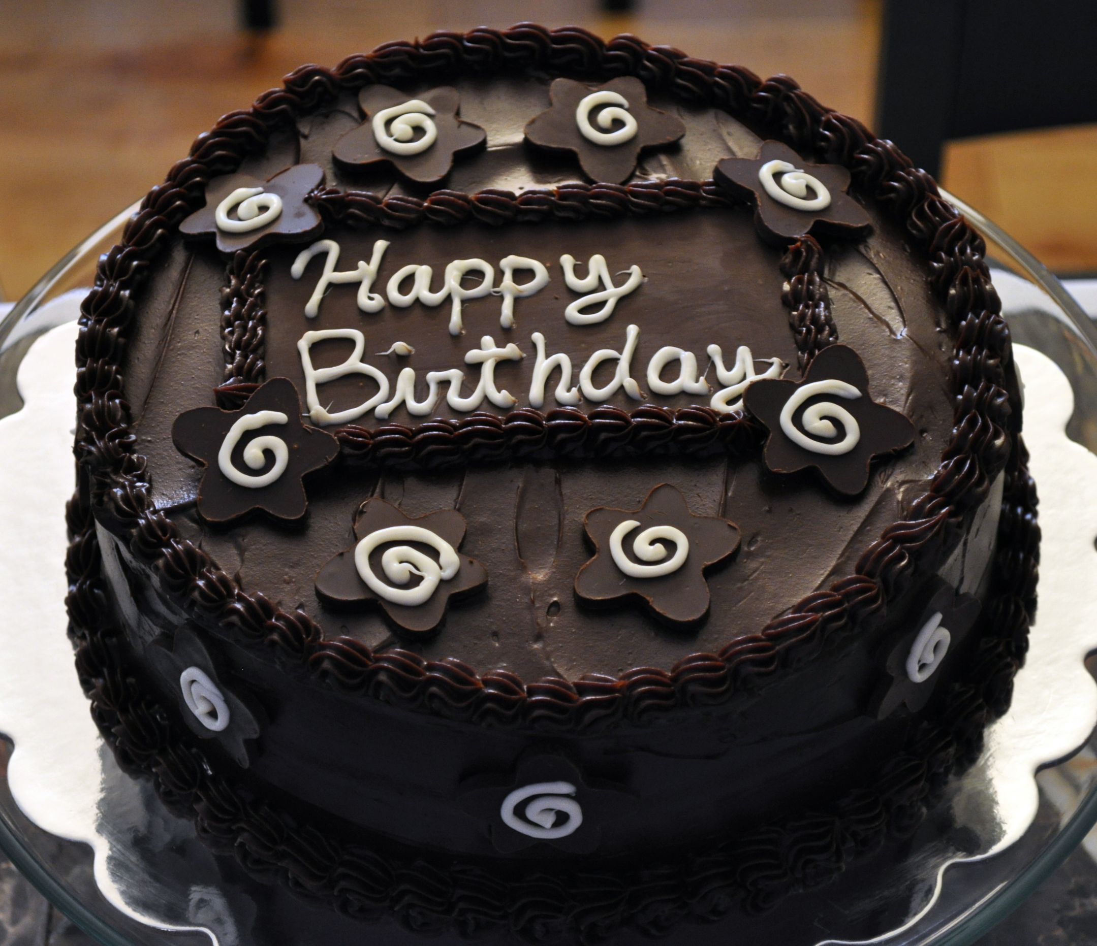 Happy Birthday New Black Forest Cake Happy Birthday Pinterest