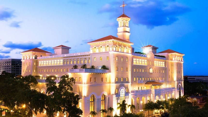 Flag Land Base Clearwater Florida It Is Known As The Worldwide Spiritual Headquarters Of Scientology Church Of Scientology Scientology What Is Scientology