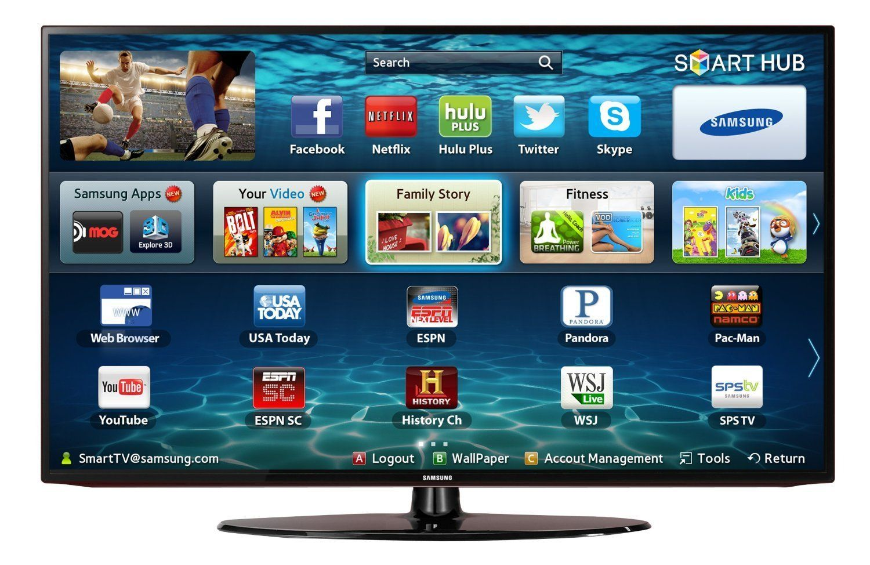 Samsung Un32eh5300 1080p 60 Hz Smart Led Hdtv Smart Tv Via Http Wraws Com Best Smart Tv Samsung Smart Tv Led Tv Smart Tv