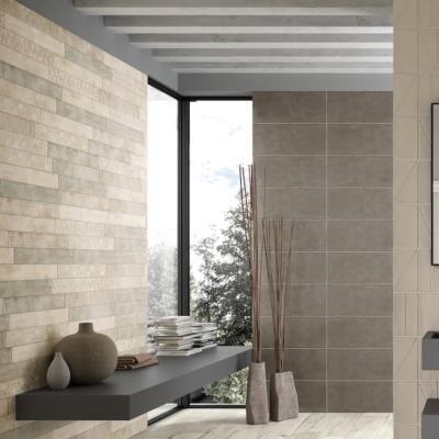 D cor tavelle fa ence salle de bain 8 5x60 5 mix haze - Faience salle de bain zen ...