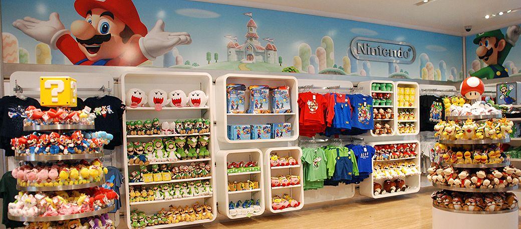 Image Result For Warner Bros Store Reopens In New York City Nintendo World Nintendo Store Nintendo Shop