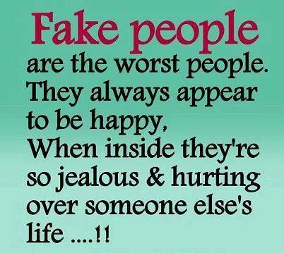 Fake people are the worst people | Fake people quotes ...