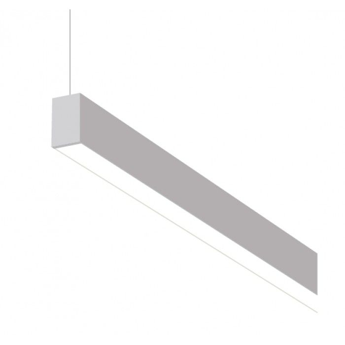 Alcon Lighting Beam 10101 4 Foot Fluorescent Architectural Suspended Linear Ceiling Light Fixture Alconlighting
