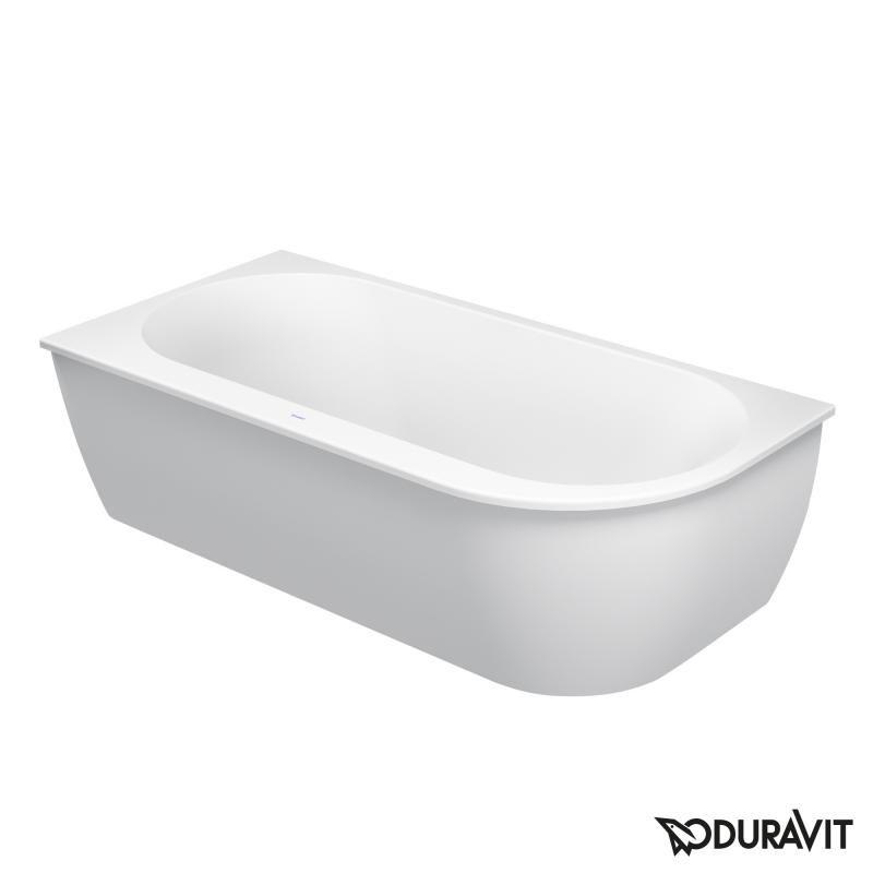 Sanitärkeramik  Duravit Darling New Eck Badewanne, für Ecke links | bad sanitär ...