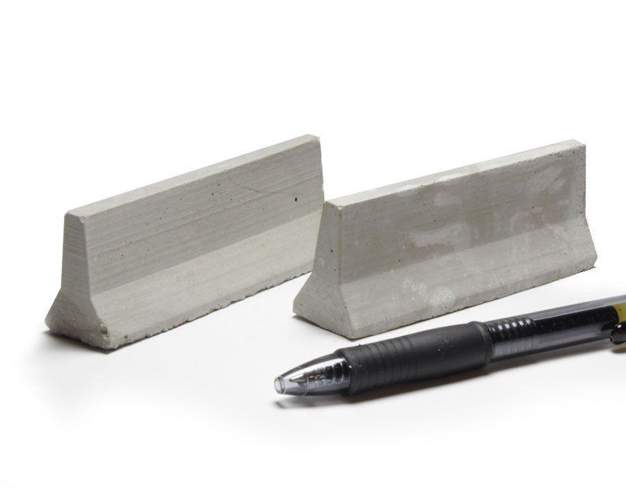 1 24 Scale Mini Jersey Barriers 2pk Jersey Barrier Concrete Design Mini