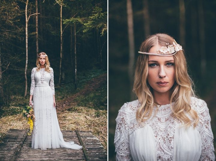 Vintage Inspired Scandinavian Bohemian Wedding Inspiration