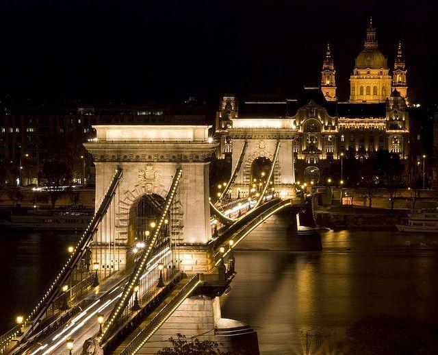 Puente De Las Cadenas Budapest Budapest Ciudades Viajes