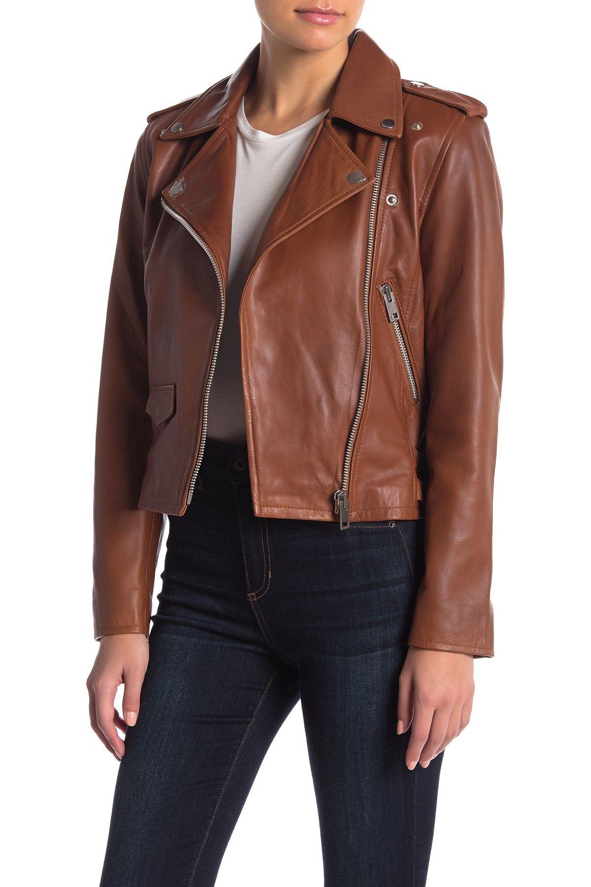 Walter Baker Liz Leather Moto Jacket Moto jacket